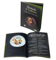 """Livre """"Saveurs & valeurs. Recettes du terroir par 20 grands chefs wallons"""""""
