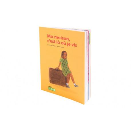 Livre illustré pour enfants « Ma maison, c'est là où je vis »