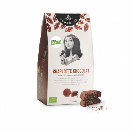 Charlotte chocolat, cookies