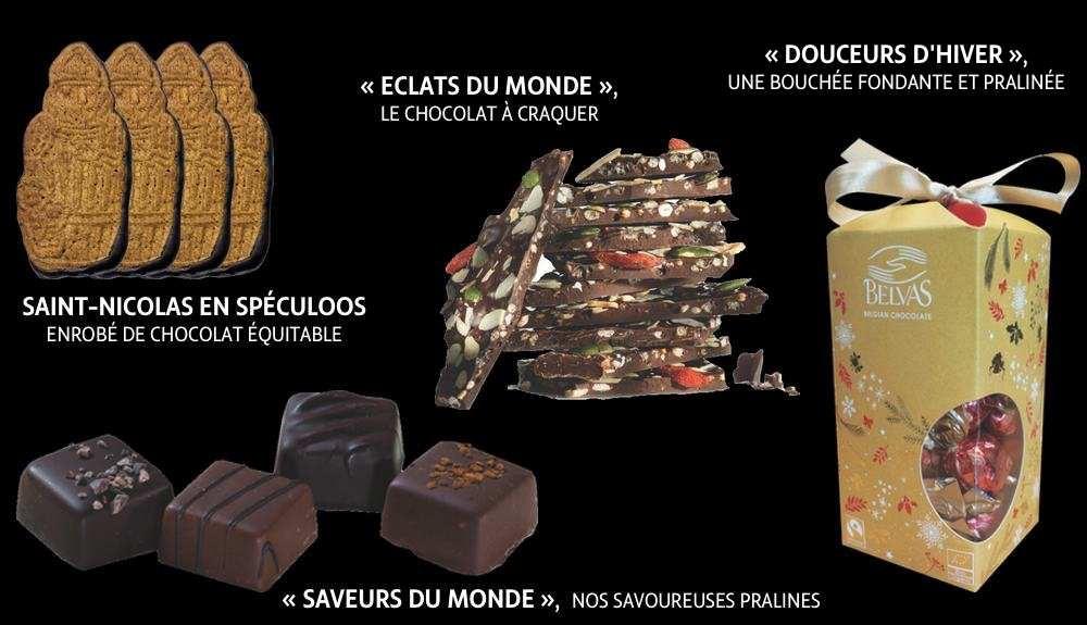 Notre offre de chocolats pour les entreprises