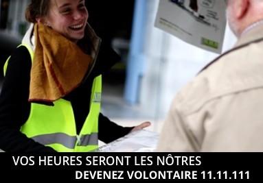 Devenez volontaire 11.11.11